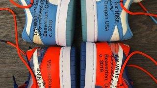 【お披露目】オフホワイト x フューチュラ x ナイキ ダンクLow / Off-White x Futura x Nike Dunk Low Collection