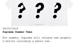 【6/29】シュプリーム ブジュバントン フォトT!? / Supreme 2019 Summer Tee