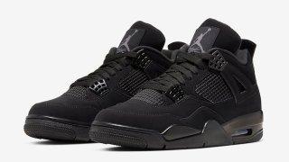 """【1/25】エアジョーダン4 ブラックキャット / Air Jordan 4 """"Black Cat"""" CU1110-010"""
