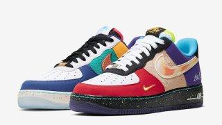 """【10/1→延期?】Nike Air Force 1 Low """"What The LA"""" CT1117-100【超注目】"""