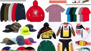 【10/5】シュプリーム x ホンダ x フォックスレーシング / Supreme x Honda x Fox Racing