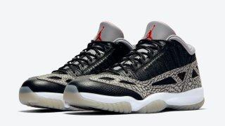 """【7/16】エアジョーダン11 Low IE ブラックセメント / Air Jordan 11 Low IE """"Black Cement"""" 919712-006"""