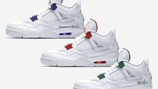 """【2020】エアジョーダン4 メタリックパック / Air Jordan 4 """"Metallic Pack"""" CT8527-113, CT8527-112, CT8527-115"""