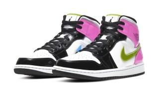 """【リーク】エアジョーダン1 ミッド パテントレザー / Air Jordan 1 Mid """"Patent Leather"""""""