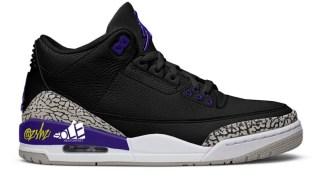 """【11/14】エアジョーダン3 コートパープル / Air Jordan 3 """"Court Purple"""" CT8532-050"""