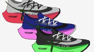 【リーク】オフホワイト x ナイキ エアズームテンポネクスト% / Off-White x Nike Air Zoom Tempo NEXT%