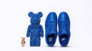 """【オンラインリリース】クロット x ナイキ x メディコムトイ / Clot x Nike x Medicom Toy """"Royale University Blue Collection"""