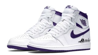 "【2021】エアジョーダン1 コートパープル / Air Jordan 1 High OG WMNS ""Court Purple"" CD0461-151"