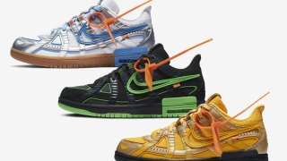 【10/1】オフホワイト x ナイキ エア ラバーダンク コレクション / Off White x Nike Air Rubber Dunk Collection CU6015-001, CU6015-700, CU6015-100