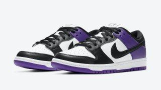 """【1/1】ナイキSB ダンク ロー コートパープル / Nike SB Dunk Low """"Court Purple"""" BQ6817-500"""