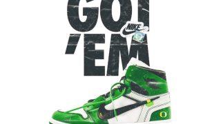 """【何これwww】オフホワイト × ナイキ エアジョーダン 1 """"オレゴン ダックス"""" / Off-White x Air Jordan 1 """"Oregon Ducks"""""""
