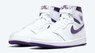 "【6/3】エアジョーダン1 ハイ OG WMNS コートパープル / Air Jordan 1 High OG WMNS ""Court Purple"" CD0461-151"