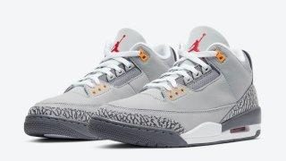 """【2/20】エアジョーダン3 クールグレー / Air Jordan 3 """"Cool Grey"""" CT8532-012"""