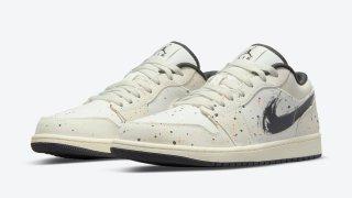 """【デザイン◎】エアジョーダン1 ロー ペイントスプラッター / Air Jordan 1 Low """"Paint Splatter"""" DM3528-100"""