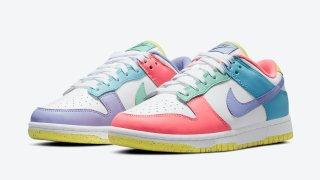 """【4/2】ナイキ ダンク ロー WMNS イースター / Nike Dunk Low WMNS """"Easter"""" DD1872-100"""