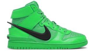 """【リーク】アンブッシュ x ナイキ ダンク ハイ """"フラッシュ ライム"""" / Ambush x Nike Dunk High """"Flash Lime"""""""
