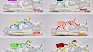 """【8/9】オフホワイト x ナイキ ダンク ロー """"ザ・フィフティー"""" コレクション / Off-White x Nike Dunk Low """"The 50"""" Collection"""
