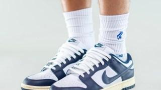 """【リーク】ナイキ ダンク ロー """"ホワイト ネイビー"""" / Nike Dunk Low White Navy"""