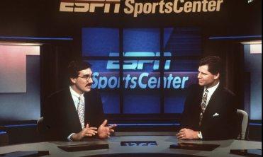 Keith Olbermann and Dan Patrick of ESPN