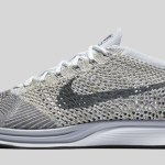 "10月14日発売予定 NIKE FLYKNIT RACER ""PURE PLATINUM/COOL GREY"""