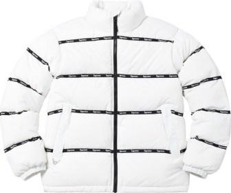 Logo Tape Puffy Jacket