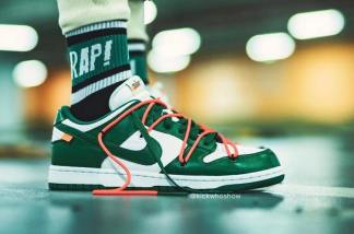 Off-White-Nike Dunk-Low-Green-CT0856-100-11