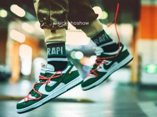 Off-White-Nike Dunk-Low-Green-CT0856-100-12