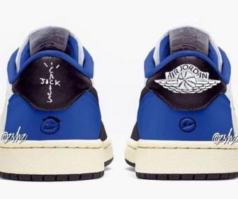 FRAGMENT DESIGN x TRAVIS SCOTT CACTUS JACK NIKE AIR JORDAN 1 LOW