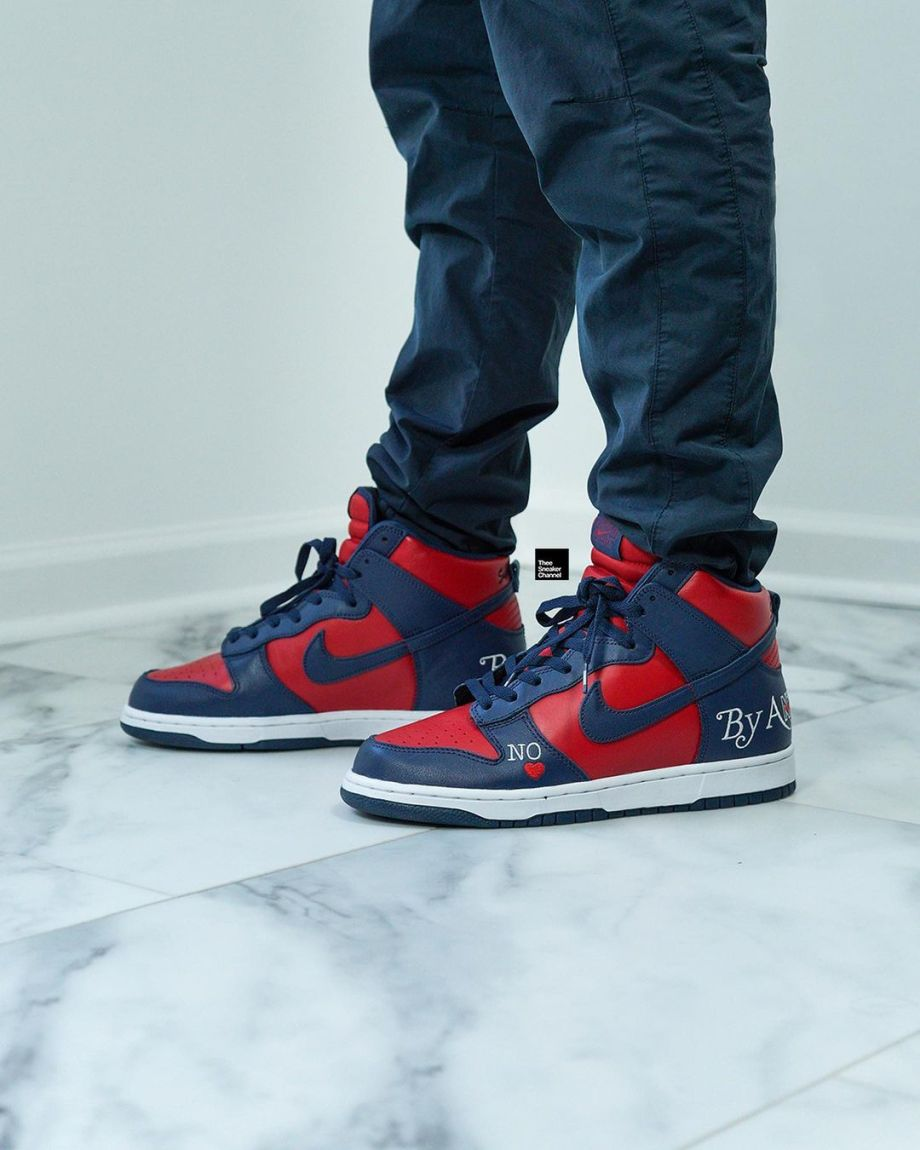 SUPREME × NIKE SB DUNK HIGH BY ANY MEANS
