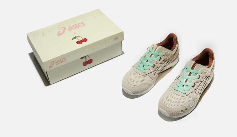Nice Kicks x ASICS GEL-LYTE 3 Nice Cream