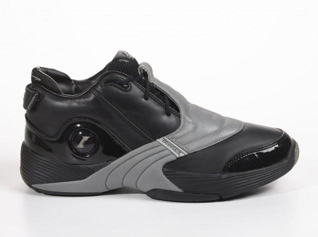 Reebok Anser V Black - Silver - 2002 - Sneaker History - Allen Iverson 58 Points