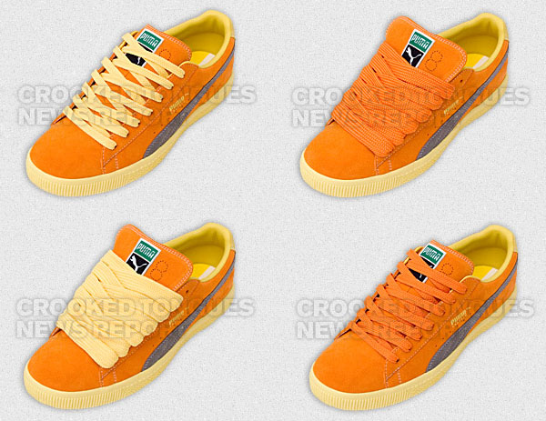 "Crooked Tongues x Puma Clyde ""Crooked"" Part 3"