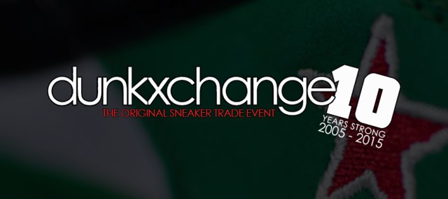 Dunkxchange is just one of the many sneaker events to attend worldwide.
