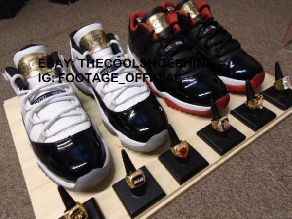 Michael Jordan's Six Rings Inspired Jordan 11s