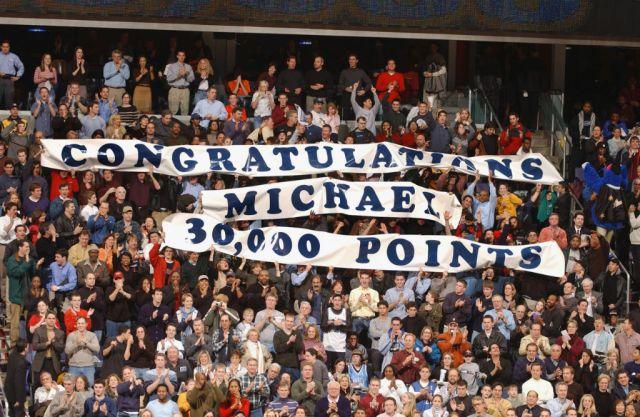Michael Jordan Scores 30,000 Point Against Chicago Bulls