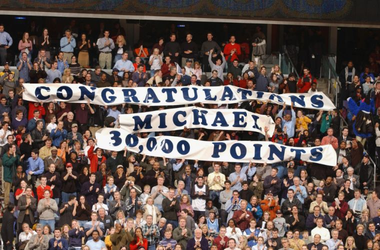 Michael Jordan 30,000 Point Club