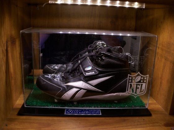 Peyton Manning Super Bowl Cleats