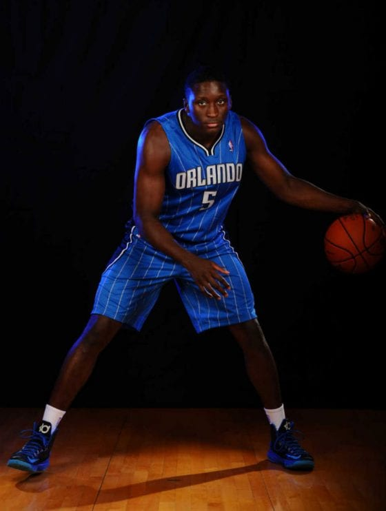 Victor Oladipo Nike KD 5 - 2015 Slam Dunk Contest Preview - Photo courtesy of NBA