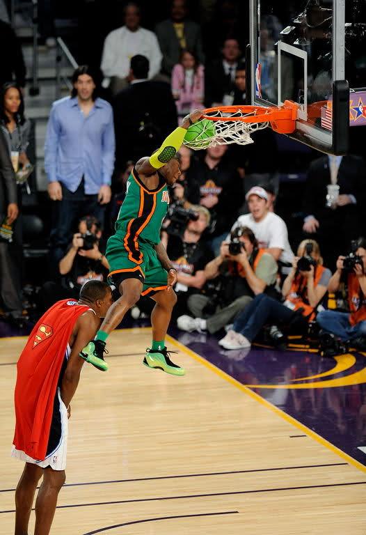 2009 Nate Robinson in Nike Foamposite Lite