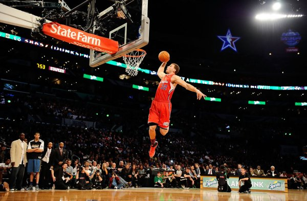 2011 Blake Griffin in Nike Air Max Fly By