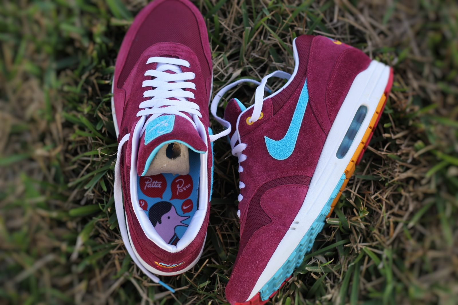 pubertad Recreación Elemental  The 5 Year Anniversary of the Parra x Patta Nike Air Max 1 | Sneaker History