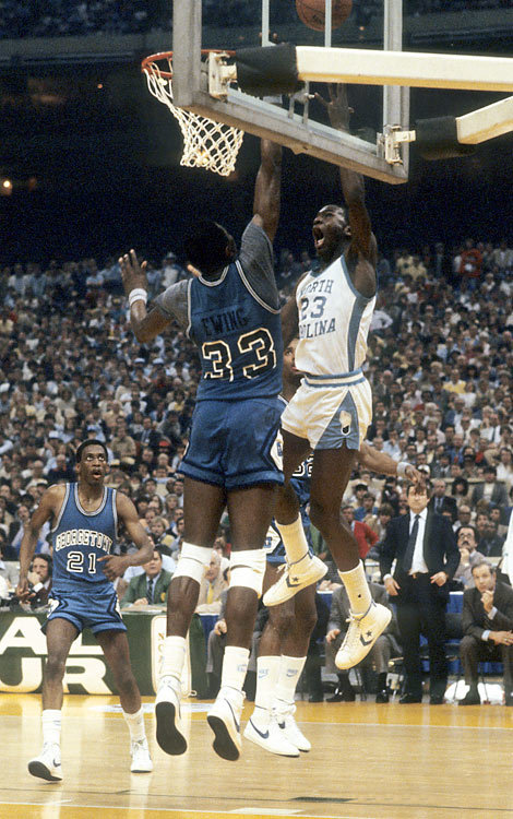 Most Iconic Sneaker Moments in College Basketball History - Michael Jordan Converse Pro Leathers