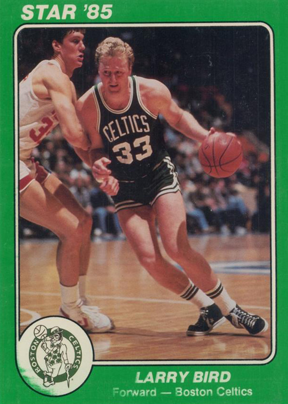 Larry Bird in Converse Pro Leather Star Super Teams Card