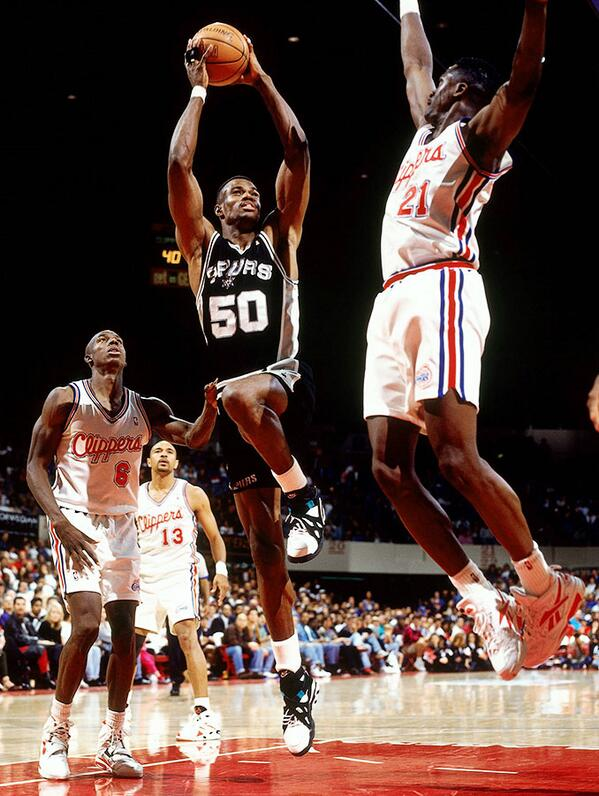 David Robinson in Nike Air Unlimited