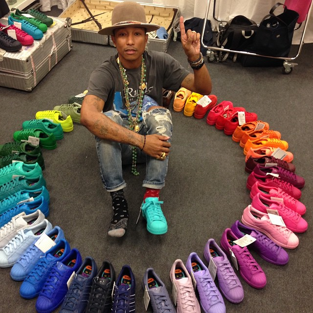 adidas Superstar Circle Pharrell WIlliams