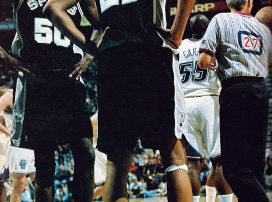Tim Duncan in Nike Total Foamposite Max