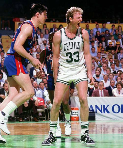 Larry Bird in Converse Wearpon
