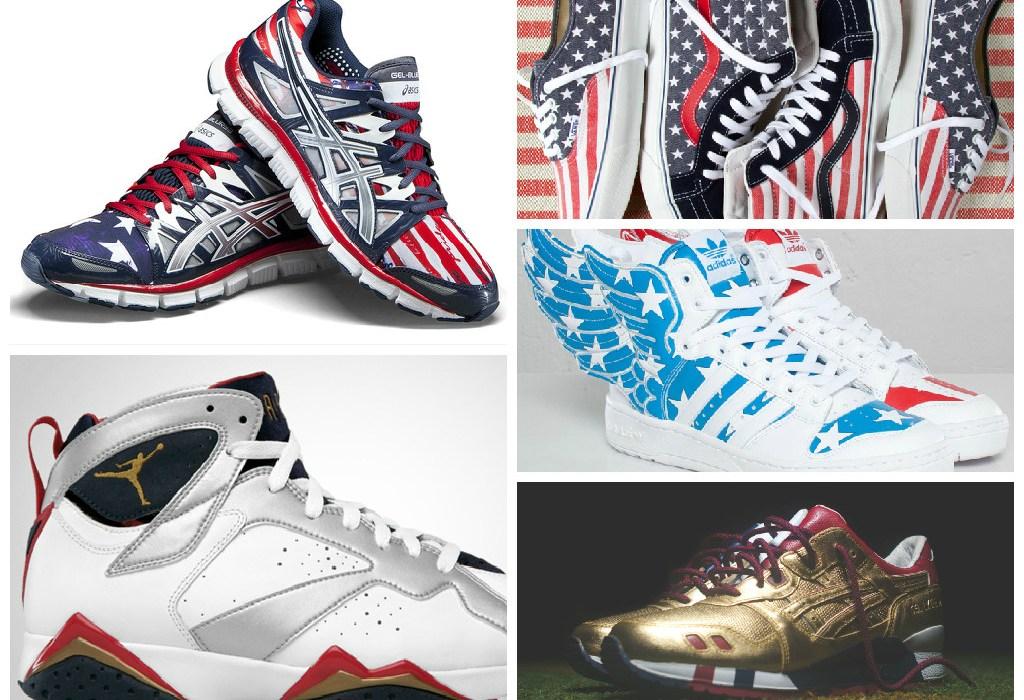"""15 """"Patriotic"""" Sneakers to Wear This Weekend"""