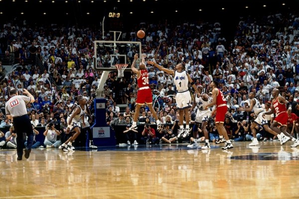Kenny Smith Sets NBA Finals 3-Pointer Record