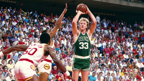 Larry Bird Leads Celtics to NBA Championship with Triple Double
